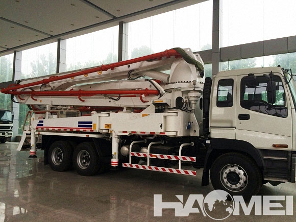 Mini Concrete Boom Pump Truck for Sale